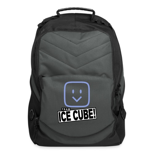 Team IC! hanger shirt dark - Computer Backpack