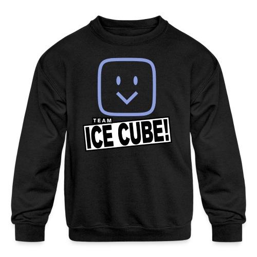 Team IC! hanger shirt dark - Kids' Crewneck Sweatshirt