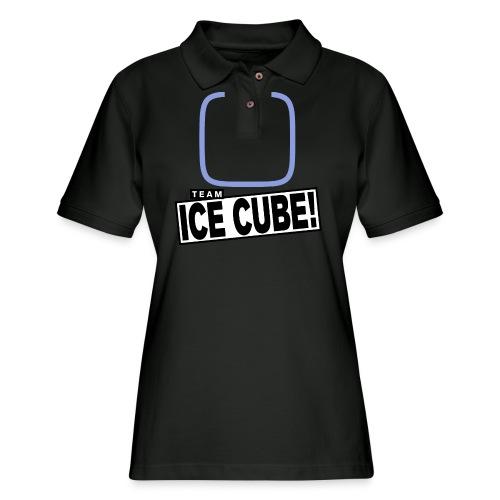 Team IC! hanger shirt dark - Women's Pique Polo Shirt