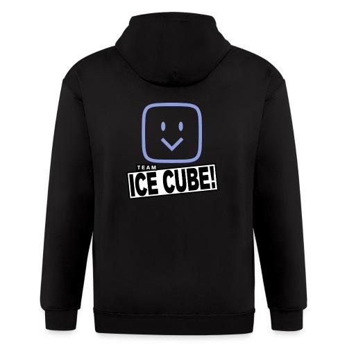 Team IC! hanger shirt dark - Men's Zip Hoodie