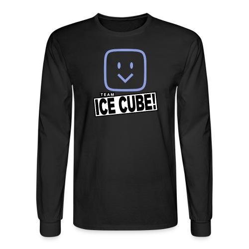 Team IC! hanger shirt dark - Men's Long Sleeve T-Shirt
