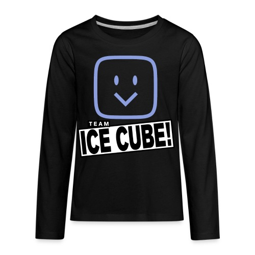 Team IC! hanger shirt dark - Kids' Premium Long Sleeve T-Shirt
