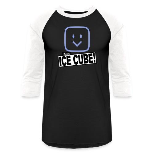 Team IC! hanger shirt dark - Baseball T-Shirt