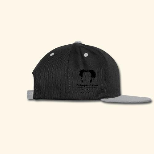 Philosophy and pessimistic optimism.  - Snap-back Baseball Cap