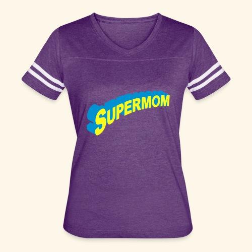 Supermom  - Women's Vintage Sport T-Shirt