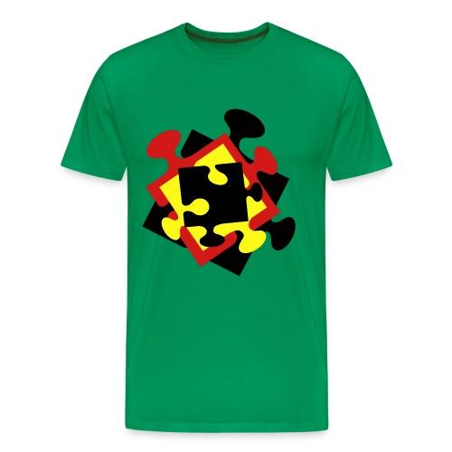 4 Jigsaw Pieces - Men's Premium T-Shirt