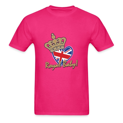 The Royal Baby - Men's T-Shirt