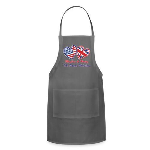 Meghan and Harry The Royal Wedding - Adjustable Apron