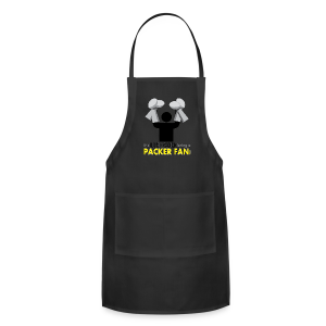 Hard Work being a Packer Fan! - Adjustable Apron