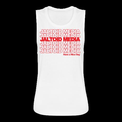 Jaltoid Media - Have a nice Day  - Women's Flowy Muscle Tank by Bella
