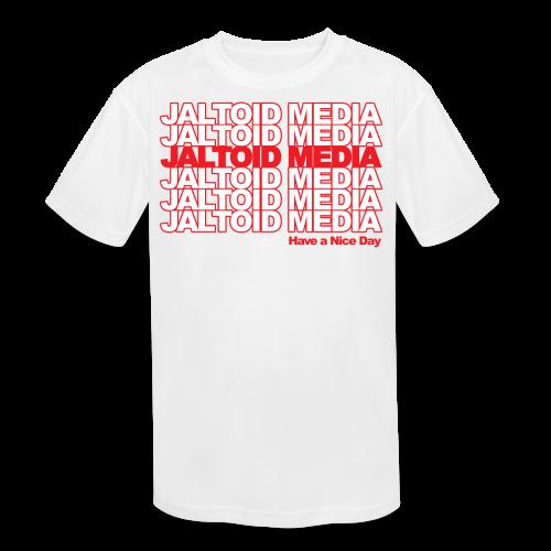 Jaltoid Media - Have a nice Day  - Kids' Moisture Wicking Performance T-Shirt