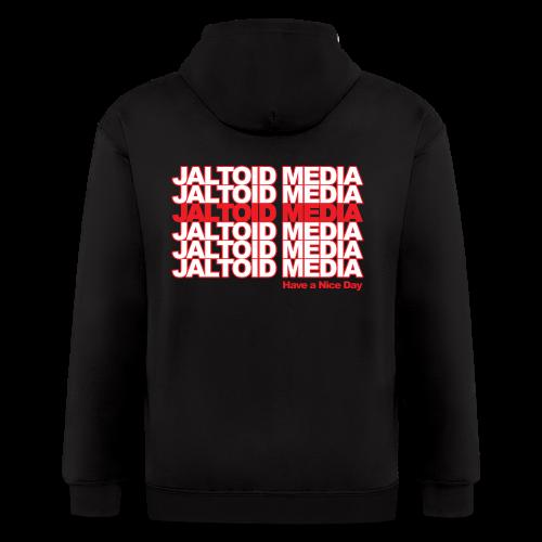 Jaltoid Media - Have a nice Day  - Men's Zip Hoodie
