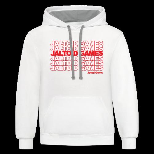Jaltoid Games - Joted Gems  - Contrast Hoodie