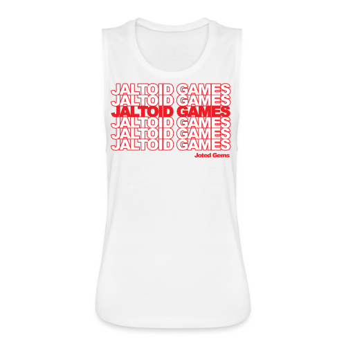 Jaltoid Games - Joted Gems  - Women's Flowy Muscle Tank by Bella