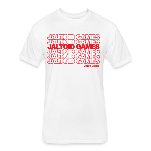 Jaltoid Games - Joted Gems  - Fitted Cotton/Poly T-Shirt by Next Level