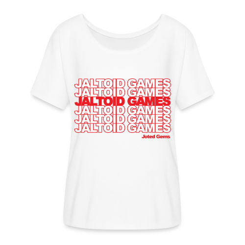 Jaltoid Games - Joted Gems  - Women's Flowy T-Shirt
