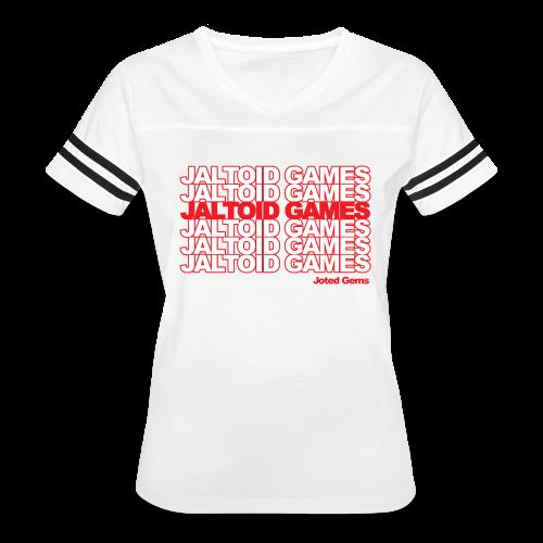 Jaltoid Games - Joted Gems  - Women's Vintage Sport T-Shirt