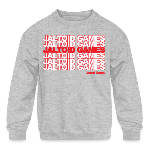 Jaltoid Games - Joted Gems  - Kids' Crewneck Sweatshirt