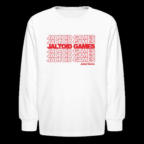 Jaltoid Games - Joted Gems  - Kids' Long Sleeve T-Shirt