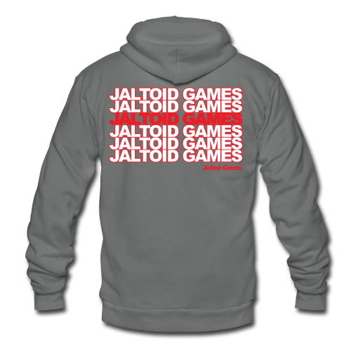 Jaltoid Games - Joted Gems  - Unisex Fleece Zip Hoodie