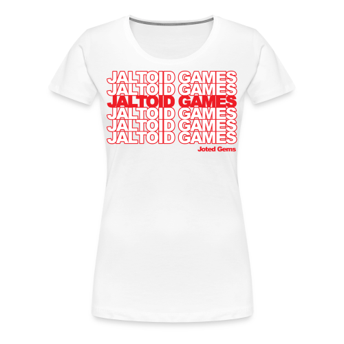 Jaltoid Games - Joted Gems  - Women's Premium T-Shirt