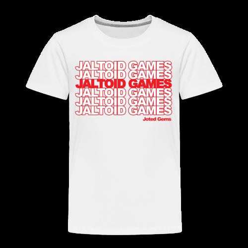 Jaltoid Games - Joted Gems  - Toddler Premium T-Shirt