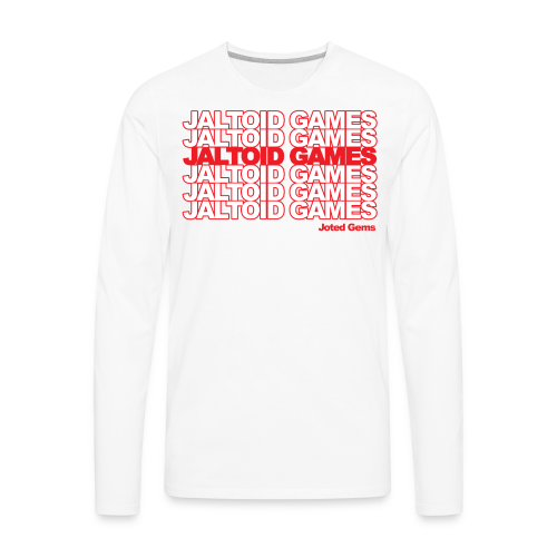 Jaltoid Games - Joted Gems  - Men's Premium Long Sleeve T-Shirt