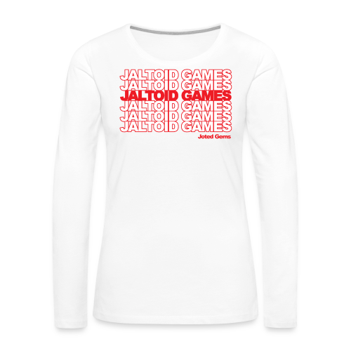 Jaltoid Games - Joted Gems  - Women's Premium Long Sleeve T-Shirt