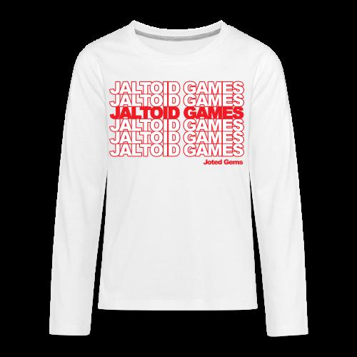 Jaltoid Games - Joted Gems  - Kids' Premium Long Sleeve T-Shirt