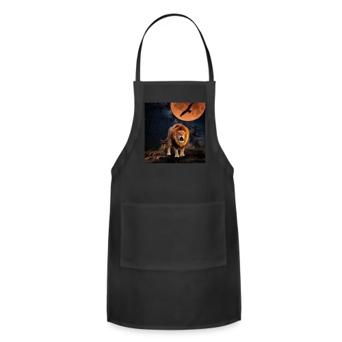 Lion Full Moon Eagle - Adjustable Apron