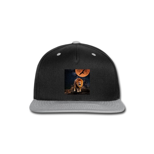 Lion Full Moon Eagle - Snap-back Baseball Cap