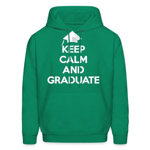 Keep Calm and Graduate - Men's Hoodie