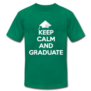 Keep Calm and Graduate - Men's T-Shirt by American Apparel