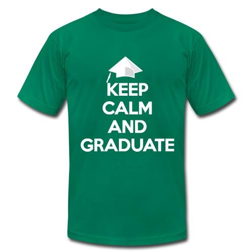 Keep Calm and Graduate - Men's Fine Jersey T-Shirt