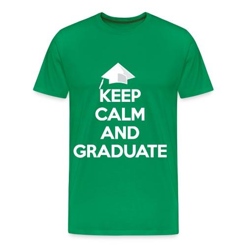Keep Calm and Graduate - Men's Premium T-Shirt