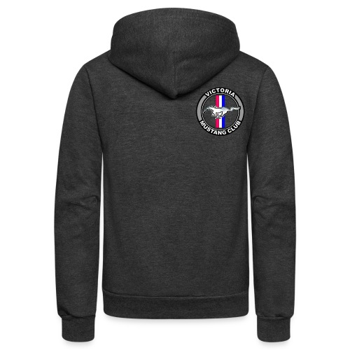 Victoria Mustang Owners Club - Unisex Fleece Zip Hoodie