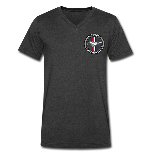 Victoria Mustang Owners Club - Men's V-Neck T-Shirt by Canvas