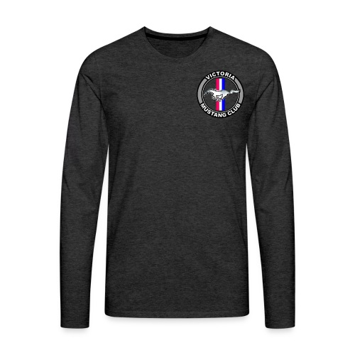 Victoria Mustang Owners Club - Men's Premium Long Sleeve T-Shirt