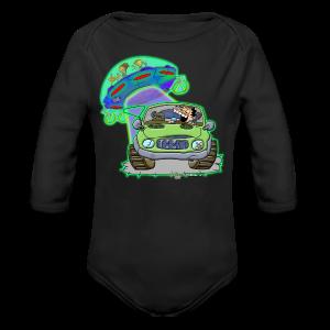 Ongher's UFO - Long Sleeve Baby Bodysuit