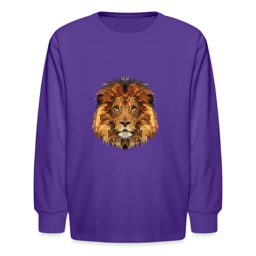 Papa Löwe - Kids' Long Sleeve T-Shirt