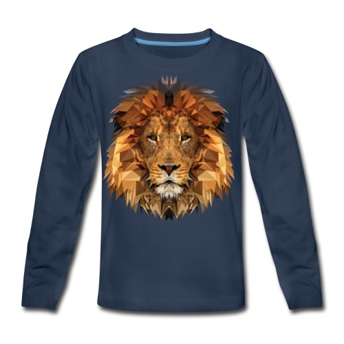 Papa Löwe - Kids' Premium Long Sleeve T-Shirt