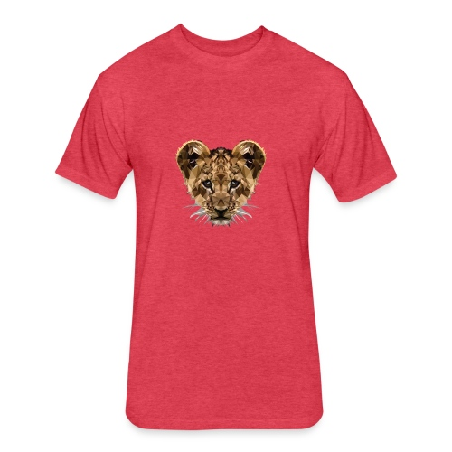 Baby Löwe - Fitted Cotton/Poly T-Shirt by Next Level