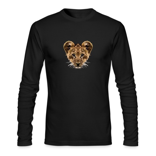 Baby Löwe - Men's Long Sleeve T-Shirt by Next Level