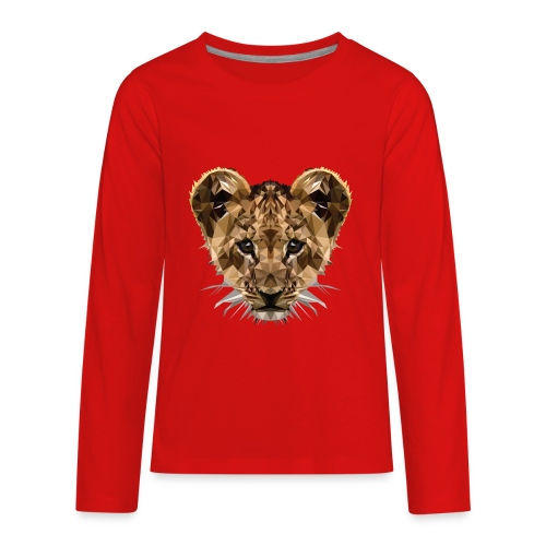 Baby Löwe - Kids' Premium Long Sleeve T-Shirt