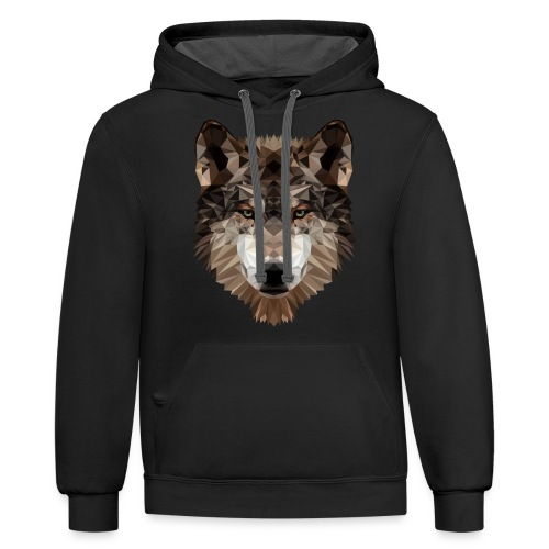Wolf of Lex Ave - Contrast Hoodie