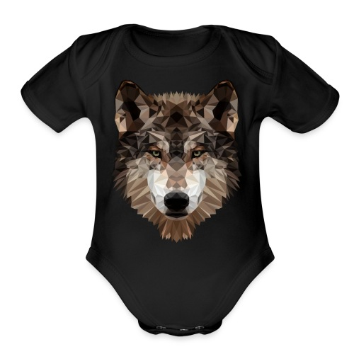 Wolf of Lex Ave - Organic Short Sleeve Baby Bodysuit