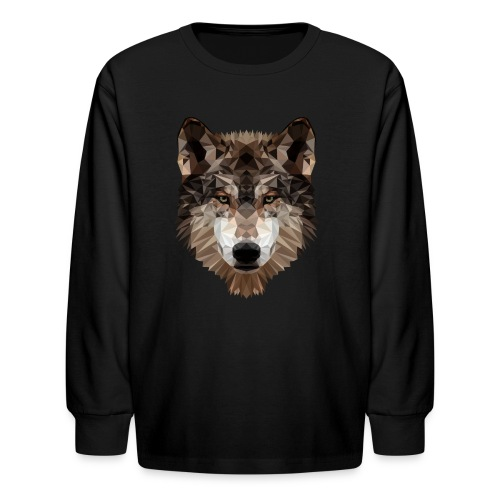 Wolf of Lex Ave - Kids' Long Sleeve T-Shirt