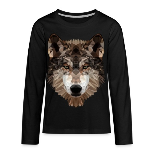 Wolf of Lex Ave - Kids' Premium Long Sleeve T-Shirt
