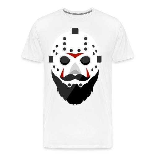 Bearded Horror Shirt Alt - Men's Premium T-Shirt