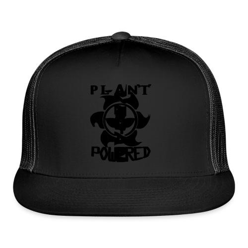 Plant Powered Neon Green Tee - Trucker Cap